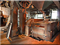 SX8671 : Tuckers Maltings - machinery by Chris Allen