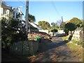 SX9373 : Elmonte Close, a private road off Buckeridge Road by Robin Stott