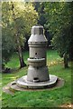 TQ5840 : Water fountain, Woodbury Park Cemetery by N Chadwick