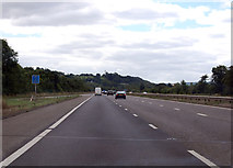 ST0207 : M5 south of junction 28 by Julian P Guffogg