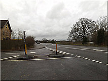 TL2460 : A428 Cambridge Road, Croxton by Adrian Cable
