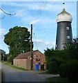 TF4451 : Toft Windmill along Mill Lane by Mat Fascione