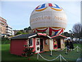 SZ0891 : Bournemouth: Santa's grotto by Chris Downer