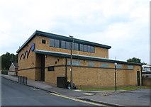 SK3487 : Netherthorpe Primary School Sports Hall, Dover Street, Netherthorpe, Sheffield by Terry Robinson