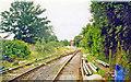 TQ2569 : Site of Merton Park station, 1998 by Ben Brooksbank