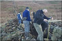 NZ5812 : Dry Stone Walling by Mick Garratt