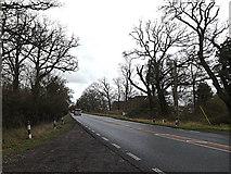 TL2359 : A428 Cambridge Road, Eynesbury Hardwicke by Adrian Cable