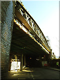 TQ3379 : Crucifix Lane railway bridge by Stephen Craven