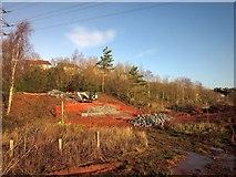 SX9066 : Construction work, former Barton landfill by Derek Harper