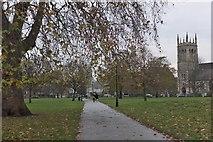 TQ2775 : Footpath on Clapham Common by Jim Barton