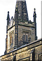 SE3600 : Hoyland - St Peter's Church spire by Dave Bevis