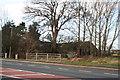 SE8530 : Farm buildings opposite the school in Newport by Chris