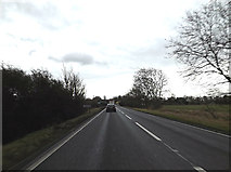 TL2460 : Entering Croxton on the A428 Cambridge Road by Adrian Cable