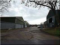 TL2460 : Whitehall Farm Industrial Estate by Adrian Cable
