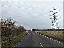 TL2460 : Toseland Road Croxton by Adrian Cable