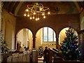 TQ1116 : Christmas Tree Festival, Warminghurst Parish Church by nick macneill