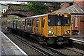 SJ3985 : Merseyrail Class 507, 507027, Cressington railway station by El Pollock