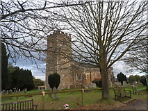TL1344 : St Leonard's church, Old Warden by Bikeboy