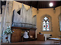 TQ3268 : St Paul's, Thornton Heath: organ by Stephen Craven