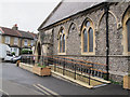 TQ3264 : St Andrew, Croydon: access ramp by Stephen Craven