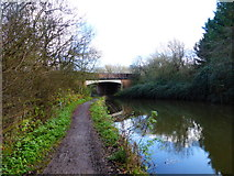 SU7451 : The A287 bridge over the Basingstoke Canal by Shazz