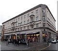 ST3188 : High Street side of Newport Market by Jaggery