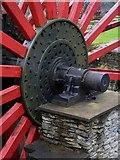 SC4384 : Axle of the Lady Evelyn waterwheel (2) by Richard Hoare