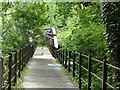 NZ2946 : Pipe bridge over River Wear by Malcolm Coils