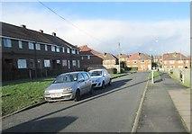 SE1321 : Malham Road - looking towards Malham Avenue by Betty Longbottom