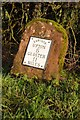 SO8433 : Milestone on the B4211 south of Longdon by Philip Halling