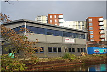 TQ1883 : Industrial unit by the Grand Union Canal by N Chadwick