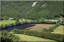 SN7079 : Cwm Rheidol Reservoir by Ian Capper