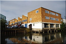 TQ1883 : Factory by the Grand Union Canal, Alperton by N Chadwick