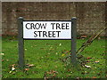 TL2655 : Crow Tree Street sign by Adrian Cable