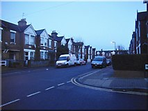 TQ2284 : Deacon Road at the junction of Belton Road by David Howard