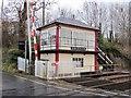 NY6129 : Culgaith Signalbox by Andrew Curtis