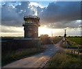 TF4953 : Control tower along Sea Lane by Mat Fascione