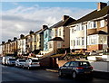ST3189 : Christmas morning sunshine in Brynglas Avenue, Newport by Jaggery