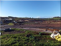SX8769 : Construction site for Kingskerswell bypass by David Smith