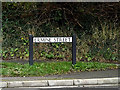 TL3058 : Ermine Street sign by Adrian Cable