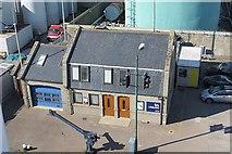 NJ9505 : Lifeboat station by Richard Webb