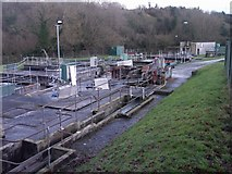 ST8992 : Sewage Treatment Works Tetbury by Paul Best