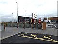 TL2960 : Costa Coffee at Caxton Gibbet Park by Adrian Cable