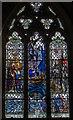 TQ9017 : Life Boat Memorial window, Winchelsea by Julian P Guffogg