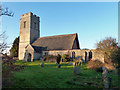 TG3928 : Lessingham church by Robin Webster