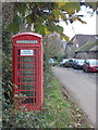 ST7610 : Fifehead Neville: the telephone box by Chris Downer