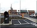 TL2960 : Caxton Gibbet Park car park by Adrian Cable