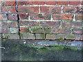 SE6030 : Bench mark on Brayton Lane by Alan Murray-Rust