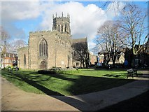 SJ9223 : St. Mary's Collegiate Church, Stafford by Tricia Neal