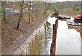 J3471 : Riverbank repairs, Annadale, Belfast by Albert Bridge
